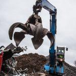 Handling steel scrap